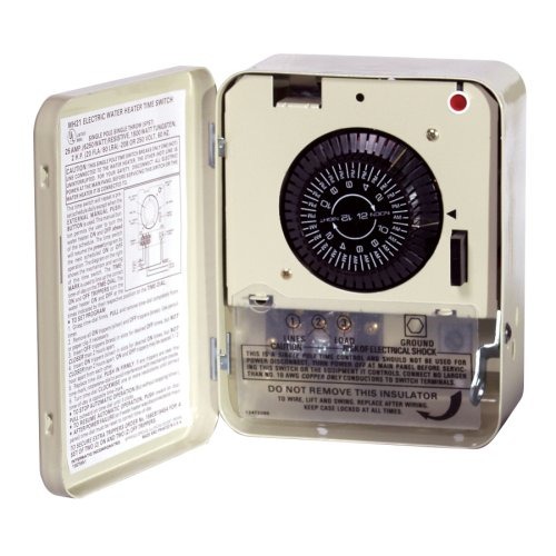 Intermatic WH21 Electric Water Heater Timer, Color