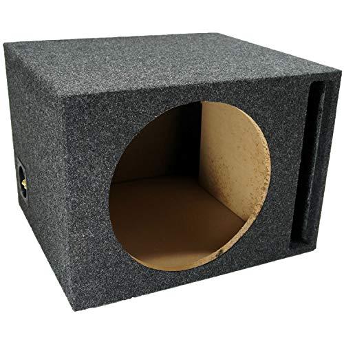 Car Audio Single 12' Vented Subwoofer Stereo Sub Box Ported Enclosure 5/8' MDF