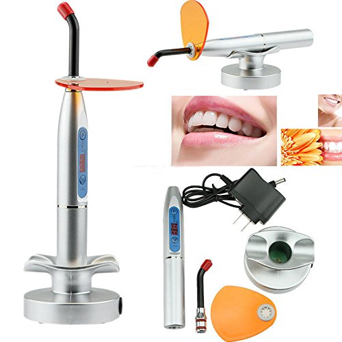 BONEW 1500~2000mW LED Light Wired & Wireless Cordless Dentist Cure Lamp US Warehouse