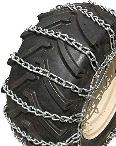 TireChain.com 12x12 26x12x12 27x12x12 Heavy Duty Tractor Tire Chains Set of 2