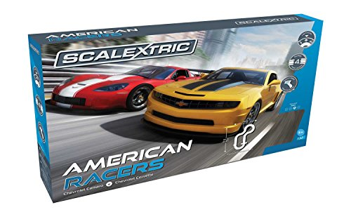 Scalextric American Racers 1:32 Slot Car Race Track C1364T Playset