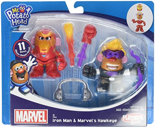 Potato Head MPH Marvel Mashup Hawkeye & Iron Man Toy