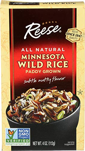 Reese Minnesota Wild Rice, 4 Ounces (Pack of 12)