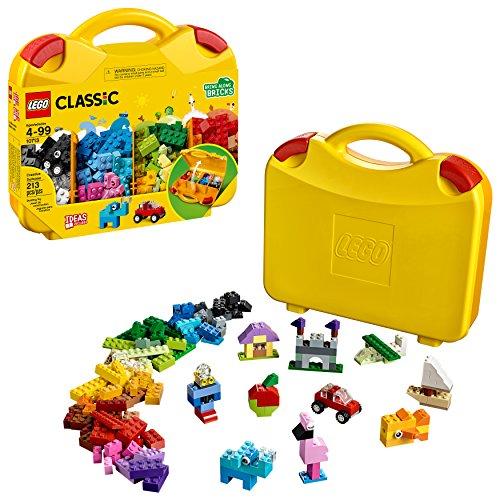 LEGO Classic Creative Suitcase 10713 Building Kit (213 Pieces)