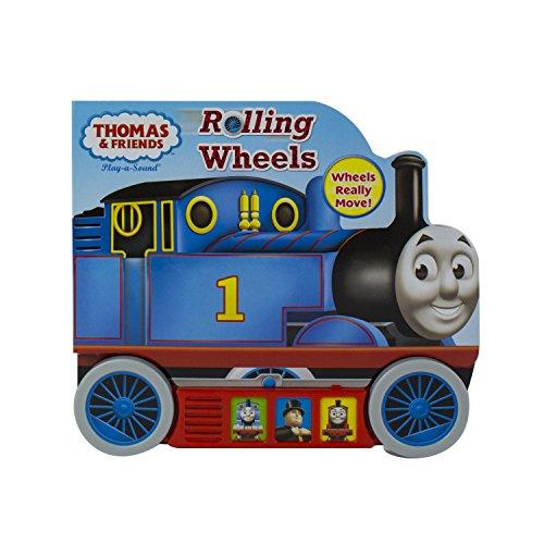 Thomas & Friends - Rolling Wheels Sound Book - PI Kids (Play-A-Sound)