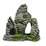 nobrand Mountain View Aquarium Rockery Hiding Cave Tree Fish Tank Ornament Decoration