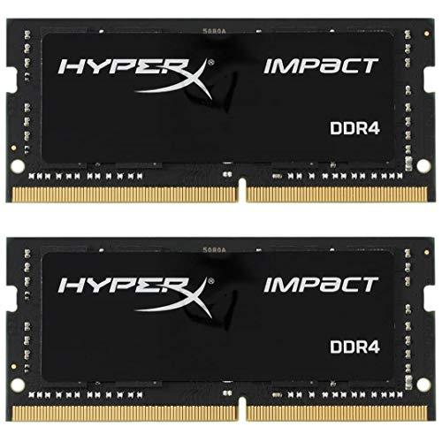 HyperX Impact 3200MHz DDR4 CL20 SODIMM (Kit of 2) HX432S20IB2K2/32, 32GB kit (2 x 16GB)