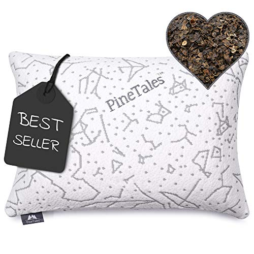 PineTales, 14' x 20', Premium Organic Buckwheat Pillow