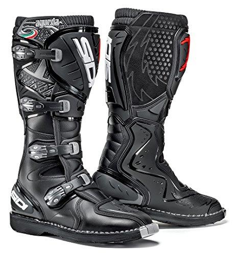 Sidi Agueda Motorcycle Boot, Black, Size 43