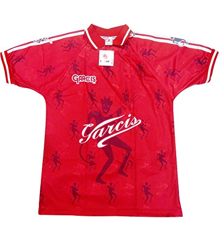 Garcis Futbol Mexico Jersey Model Toluca Color Red (X-Large)