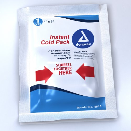 Dynarex Cold Pack 4 x 5, 24 count