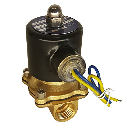 HFS (R) 12v Dc Electric Solenoid Valve Water Air Gas, Fuels N/c - 1/4IN, 1/2IN, 3/4IN, 3/8IN,1IN NPT Available (12V DC 1/2IN NPT)