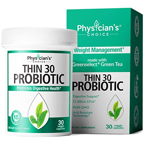 Probiotics for Women - Detox Cleanse & Weight Loss Support - Clinically Studied Greenselect- Organic Prebiotics, Digestive Enzymes, Apple Cider Vinegar & Green Tea Extract - Shelf Stable - 30 Capsules