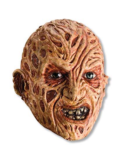 Rubie's Costume Co. Men's A Nightmare on elm Street, Vinyl Freddy Krueger mask, Red, One Size