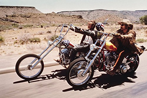 Tomorrow sunny Easy Rider / The Loners Classic Movie Art Silk Poster Bedroom Wall Decor 24x36 inch