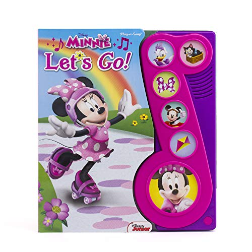 Disney Minnie Mouse - Let's Go! Little Music Note Sound Book - PI Kids (Play-A-Song)