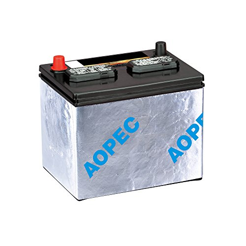 AOPEC Battery Insulation Kit (Fits Most Top And Side Mount Batteries, 40'x7')