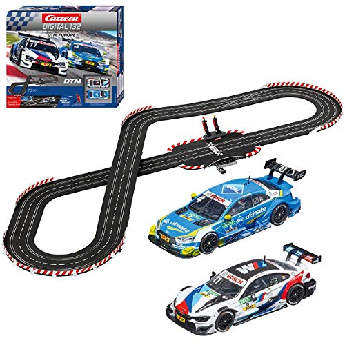 Carrera 30008 Digital 132 DTM Furore Slot Car Racing Set Includes 2 Wireless Controllers 1:32 Scale,Multi