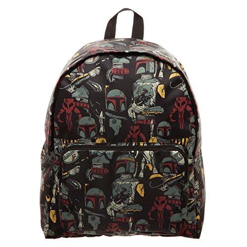 Bioworld Star Wars Boba Fett Packable Backpack