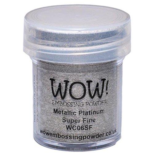Wow Embossing Powder WOW Embossing Powder, 15ml, Platinum
