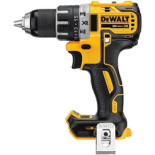 DEWALT DCD791B 20V MAX XR Li-Ion 0.5in Brushless Compact Drill/Driver (Renewed)