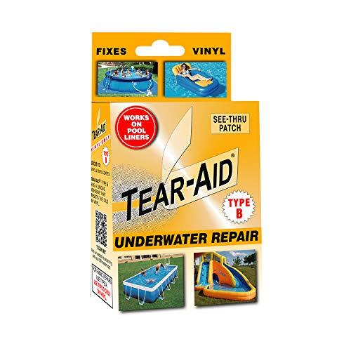 TEAR-AID Vinyl Underwater Repair Kit, Orange Box Type B, Single