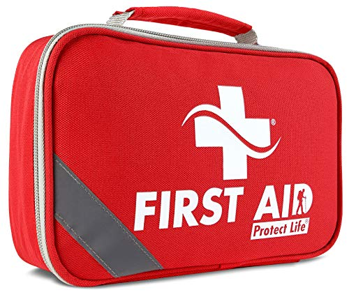 2-in-1 First Aid Kit for Car - 250 Piece - First Aid Kits for Businesses | Home First Aid Kit, Bonus Mini 1st Aid Kit, Emergency Supplies for Travel, Workplace & More