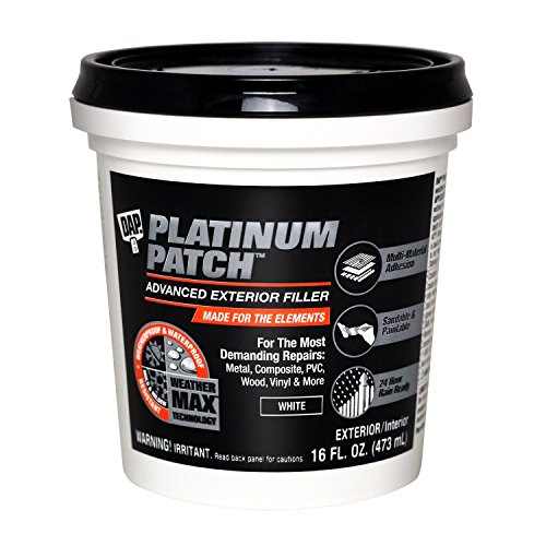 DAP INC 18741 Platinum 16OZ Patch Filler, 16.0 Fl Oz, White
