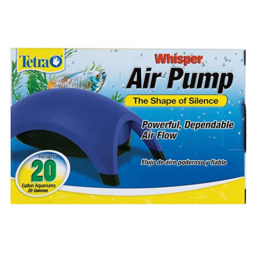 Tetra 77852 Whisper Air Pump, 20-Gallon