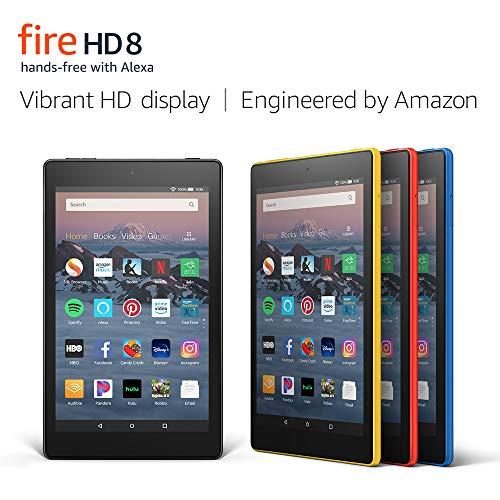 Fire HD 8 Tablet (8' HD Display, 16 GB) - Black (Previous Generation - 8th)
