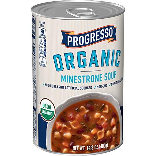 Progresso Soups Organic Minestrone Soup Can, 14.3 oz