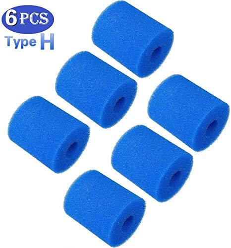 TFNKSF Pool Filter Cartridges - 6 pcs Cartridge Filter Type H for Pool Filter Pumps-Cartridge Pool Filter