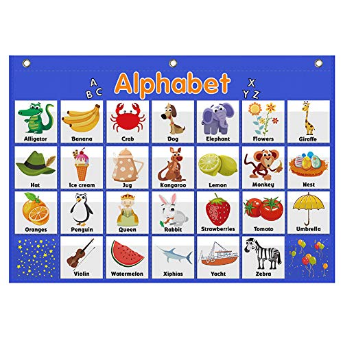 Alphabet Pocket Chart,Word Recognition Pocket Chart, ABC Pocket Chart,ABC Alphabet Pocket Chart