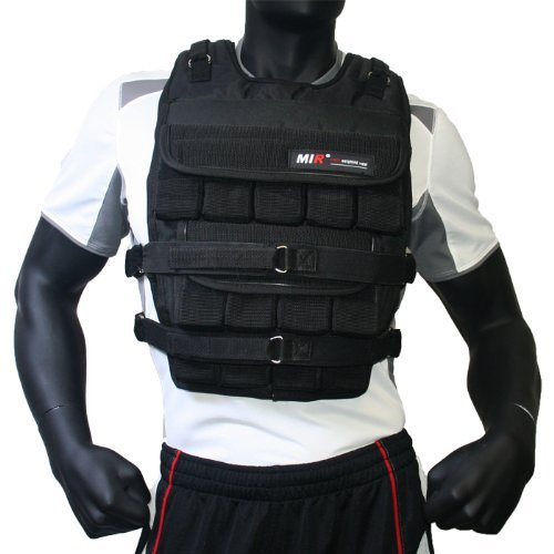 miR - Adjustable Weighted Vest (Long Style) (Pro Plus, 100lbs)
