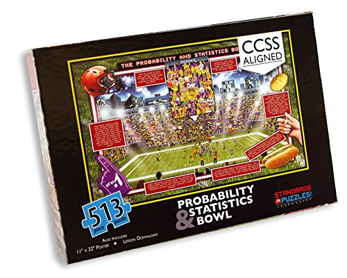 Common Core Probability & Statistics Jigsaw Puzzles with Downloadable Station Activities and Lesson Plan for Middle School Math.