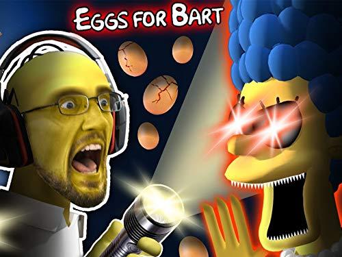 Simpsons Gurkey Game! Eggs for Bart Pt. 1