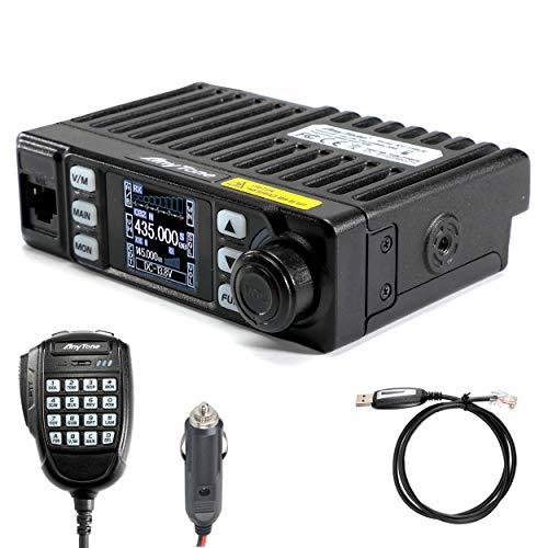 AnyTone AT-779UV Mobile Radio 20W Mini Vehicle Transceiver Long Rang Two Way Radio Programming Cable