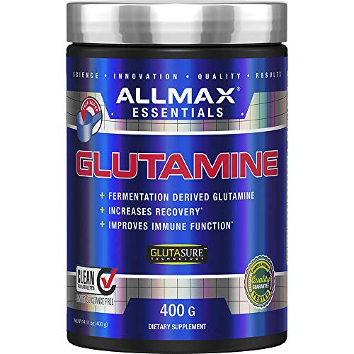 ALLMAX Nutrition 100% Pure Micronized Glutamine, 14.1 oz (400 g)