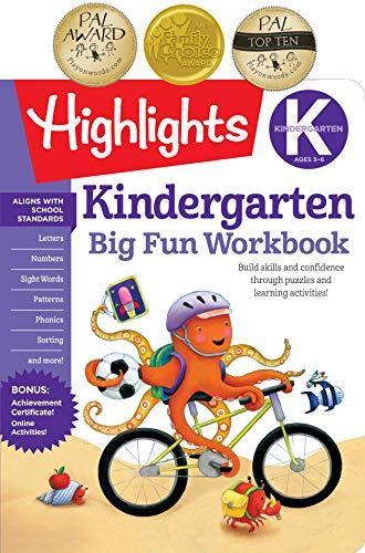 Kindergarten Big Fun Workbook (Highlights Big Fun Activity Workbooks)