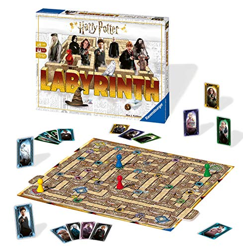 Ravensburger Harry Potter Labyrinth Family Board Game for Kids & Adults Age 7 & Up - So Easy to Learn & Play with Great Replay Value