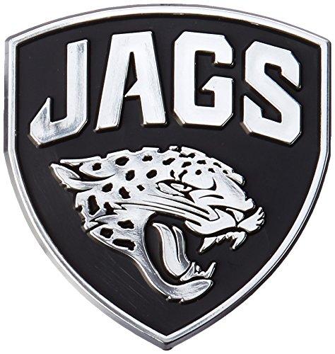 NFL Jacksonville Jaguars Chrome Automobile Emblem