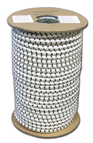 T.W Evans Cordage SC-104-050 1/4-Inch by 50-Feet Elastic Bungee Shock Cord
