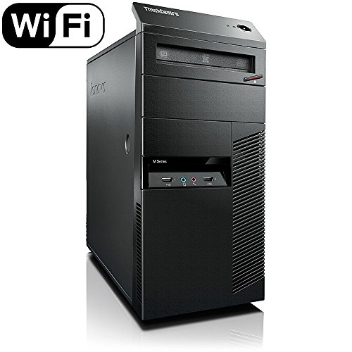 Lenovo ThinkCentre M92p Minitower Desktop PC - Intel Core i5-3470 3.2GHz 8GB 1TB DVDRW Windows 10 Professional (Renewed)