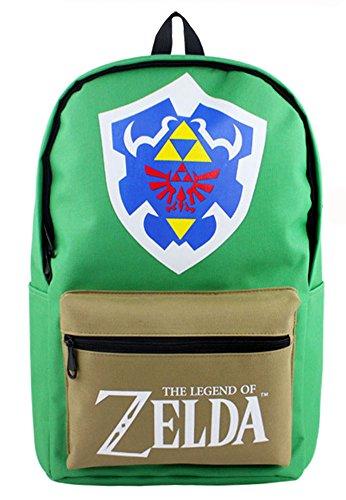 Gumstyle The Legend of Zelda Cosplay Backpack Rucksack Knapsack Schoolbag Laptop Bag Daypack for Boys and Girls