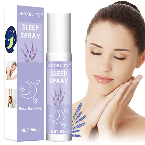 Sleep Spray,Pillow Spray,Deep Sleep Pillow Spray,Lavender Spray for Sleep,Lavender Aromatherapy Mist,All Natural Sleep Aid,Lavender Aromatherapy to Relax & Rest Stress