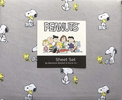 Home Peanuts Best Friends Snoopy and Woodstock Twin XL Sheet Set