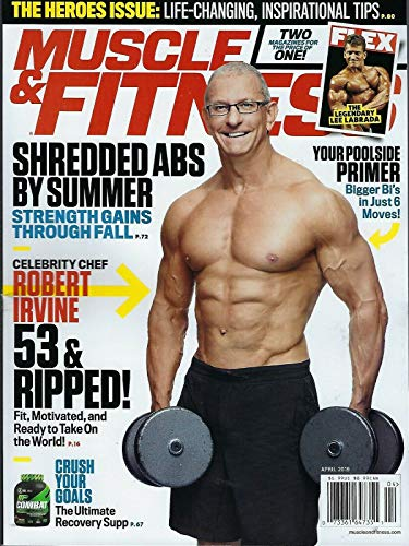 Muscle & Fitness April 2019 Robert Irvine
