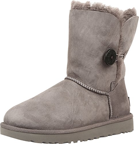 UGG Women's Bailey Button II Boot, Grey, 7