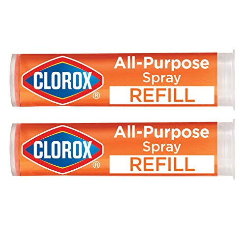 Clorox All-Purpose Cleaning Refill Cartridge for Clorox All-Purpose Cleaning System, Two Refill Cartridges - 0.66 Ounces (Package May Vary), 3 Piece Set