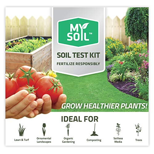 MySoil - Soil Test Kit   Grow The Best Lawn & Garden   Complete & Accurate Nutrient and pH Analysis with Recommendations Tailored to Your Soil and Plant Needs